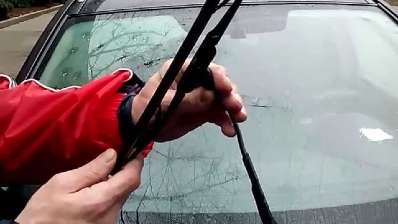 How To Replace Nissan Rogue Murano Wiper Blades Youtube