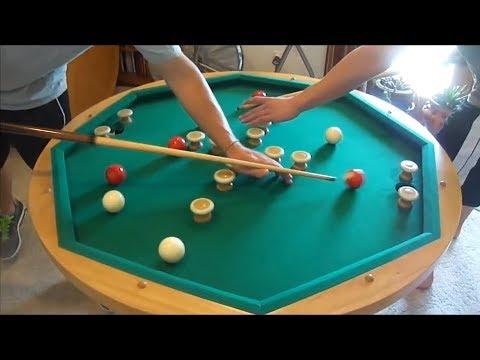 Các kiểu đánh bida độc, lạ nhất thế giới - the most strange of billiards