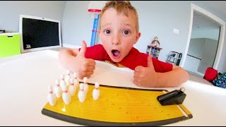 FATHER SON PLAY MINI BOWLING! / Only $5!!