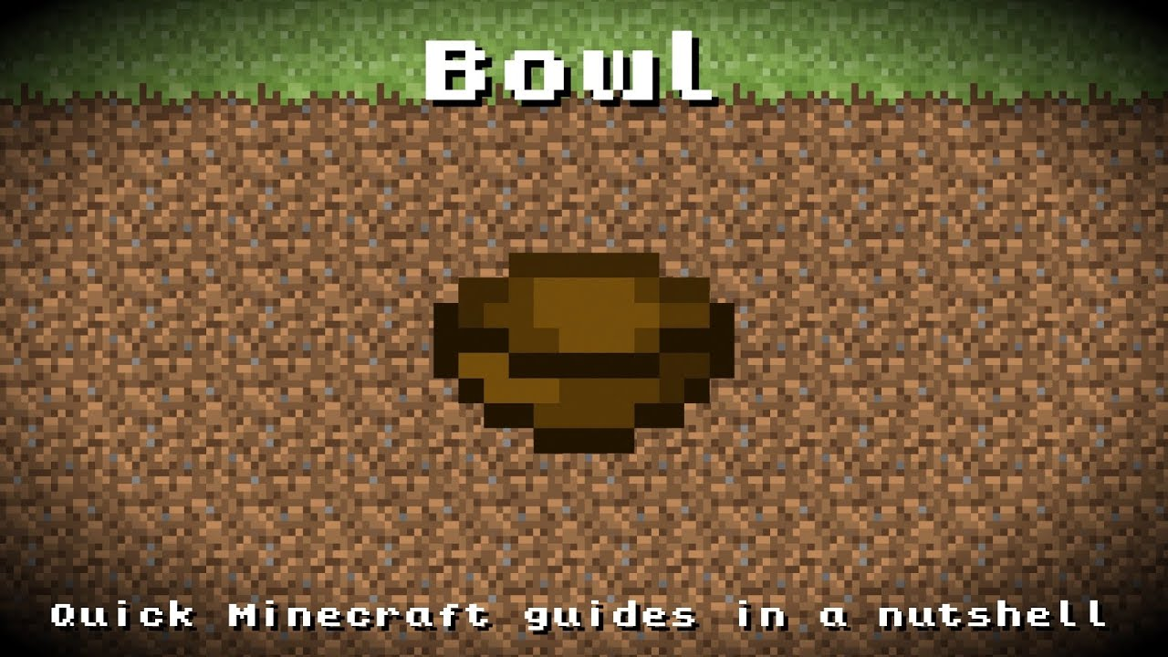 how to craft a bowl in minecraft minecraft bowl recipe item id information up to 8105