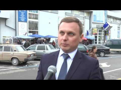 Вісник міського голови  На вулиці Тичини з'явилась нова розмітка