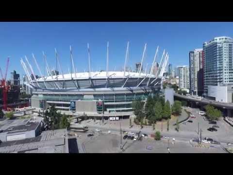 Science World and Olympic Stadium Vancouver Phantom 3 Drone