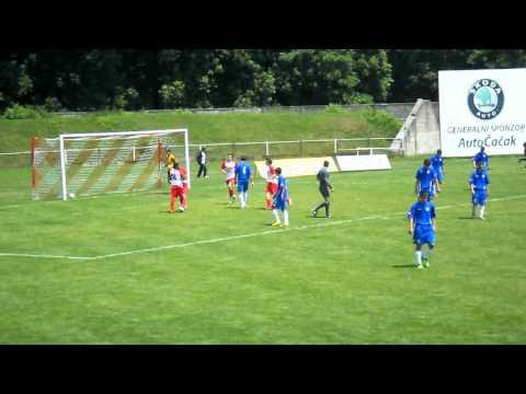 OMLADINCI: FK Borac - Radnicki Novi Beograd 2:1