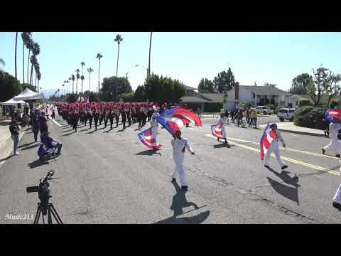 Rancho Verde HS - The Gladiator - 2019 Placentia Band Review