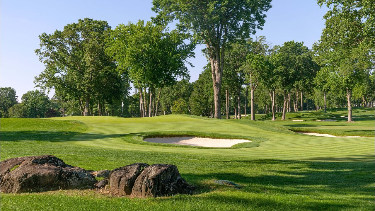 2020 U.S. Open: Winged Foot Flyover - Hole No. 14