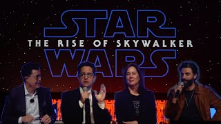 """""""Star Wars: The Rise of Skywalker"""" panel at Star Wars Celebration 2019"""