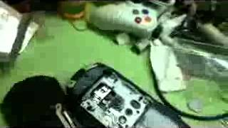 How to take out battery of PSP Street / E1000 very easy :)