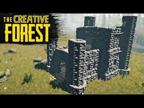 THE MINI CASTLE! The Forest Creative