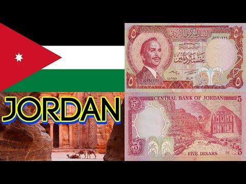 JORDANIAN 5 DINARS KING HUSSEIN