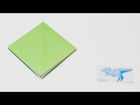 Origami Basics 5 How To Fold Squash Fold Square Base
