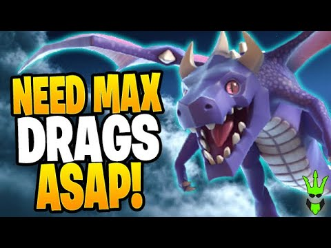 I NEED TO GET MAX DRAGONS ASAP! - Fix That Rush - Clash Of Clans
