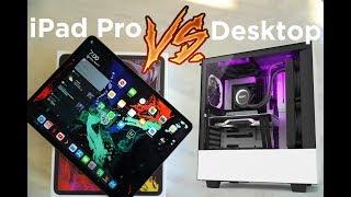 iPad Pro vs Desktop: Benchmark Comparison