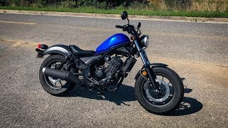 2018 Honda Rebel 300 | First Ride & Review