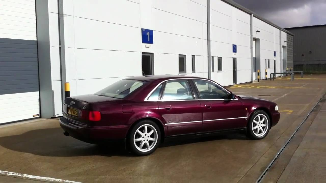 1997 R Audi A8 4 2 Quattro Sport In Ruby Red Pearl Youtube