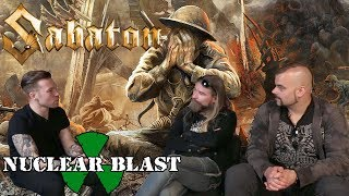 SABATON - The Metal Tris Exclusive interview at YouTube Space London (EXCLUSIVE TRAILER)