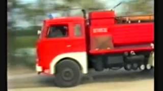 Pożar lasu w Kuźni Raciborskiej - 1992 - cały reportaż