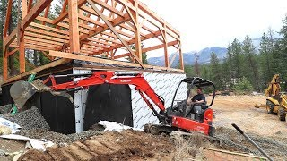 Starting HUGE NEW PROJECT! (Backfilling Basement Day One)