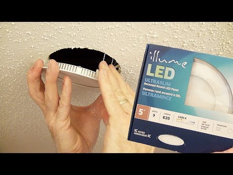 How to Install an LED Ultra-Thin Wafer Downlight | Lithonia Lighting
