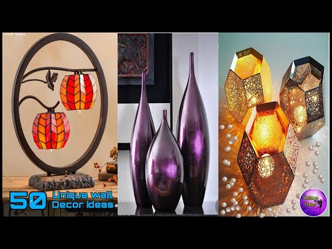 50 Best wall decor ideas ever | Diy crafts | room ideas | art and crafts  | Fashion pixies