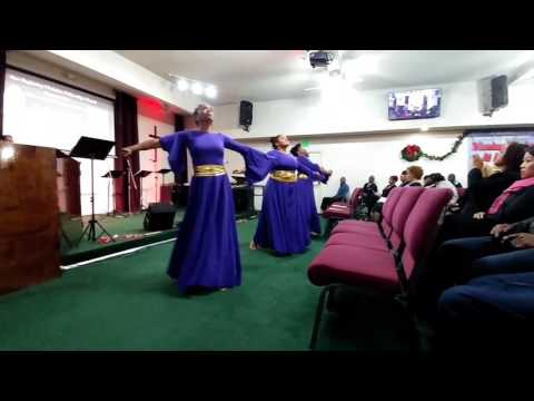 Christmas Musical Praise Dance 2016 NBCFC