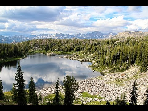 Backpacking & Fly Fishing The Wind Rivers