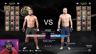 Khabib vs Gaethje | Prediction Match UFC 254 | UFC 4 Gameplay