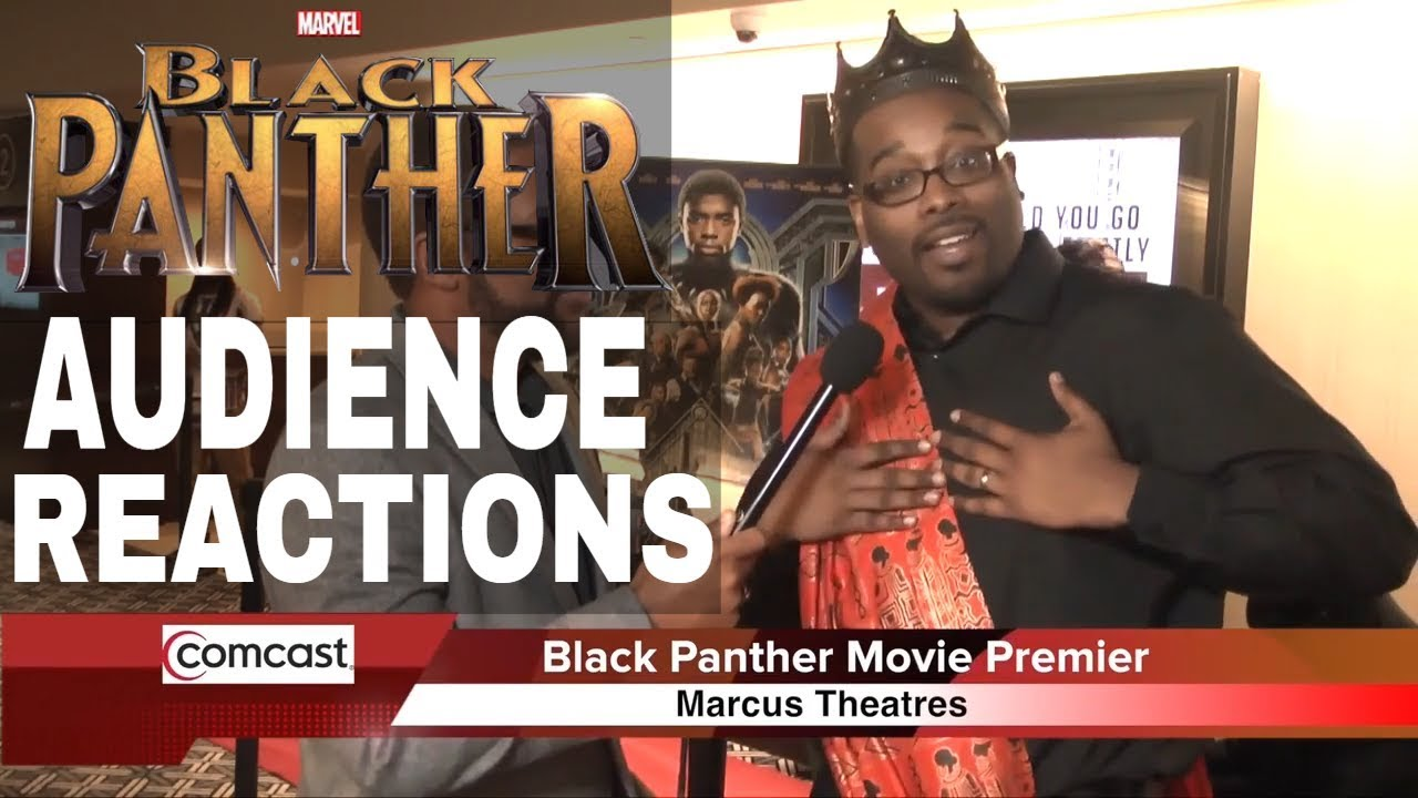 Black Panther Challenge: E-Man's Exclusive Watch Party & Audience Reactions
