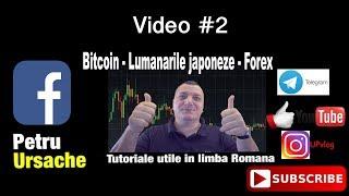 Bitcoin Lumanarile japoneze Forex Video #2 recstart vlog