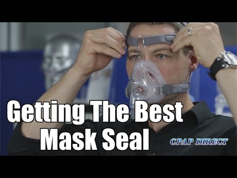 Getting The Best Mask Seal - CPAP Secrets