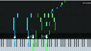 """Qara Qarayev """"Yeddi gozel"""" baletinden vals piano tutorial (notlarla birgə)"""