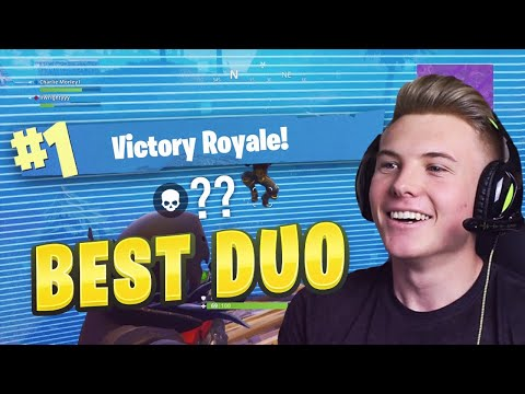 THE BEST DUO on FORTNITE BATTLE ROYALE