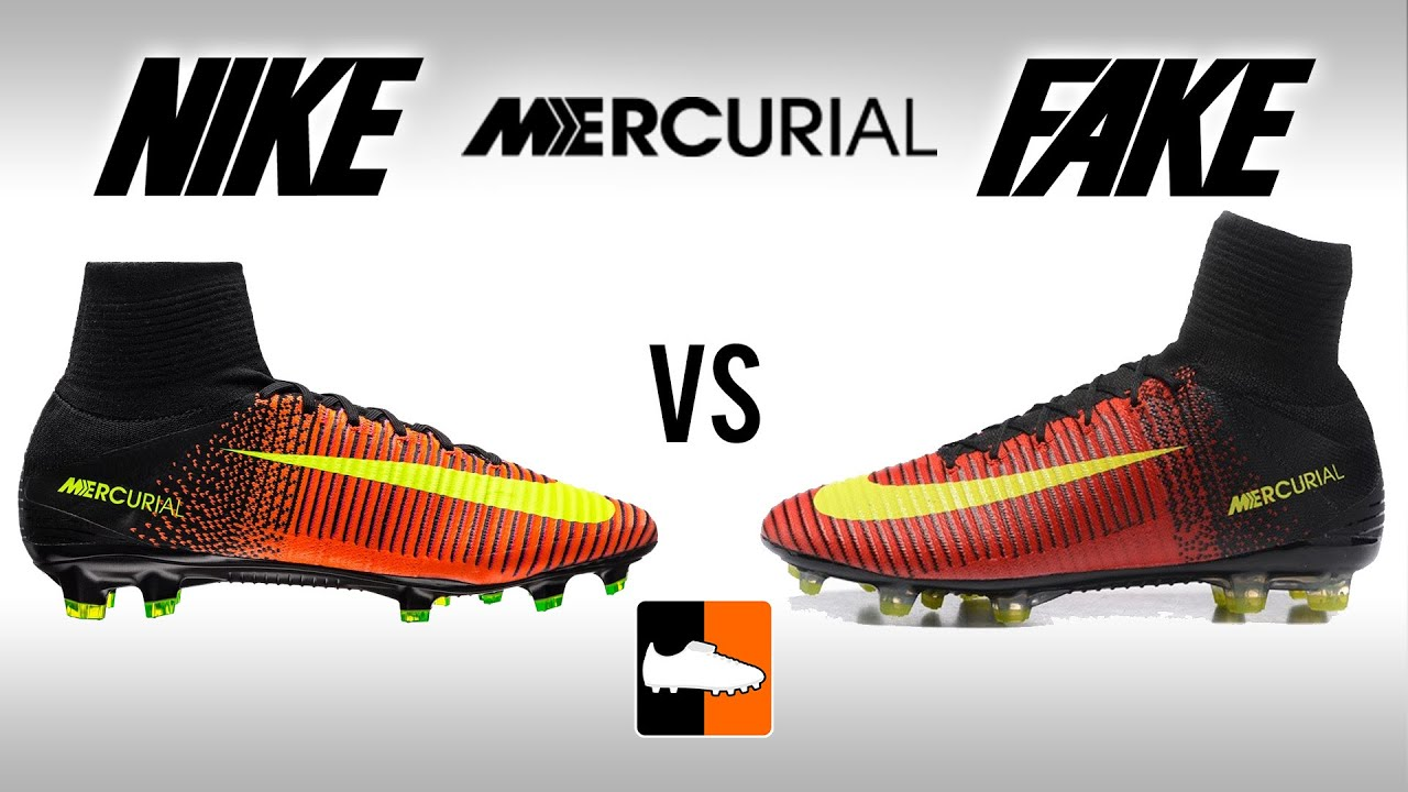 fb3c0d44466 Fake vs. Real Superfly V - How to avoid buying Replica Nike Mercurial  Football Boots