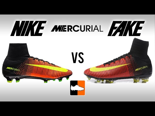 dfb4e99431f9 Fake vs. Real Superfly V - How to avoid buying Replica Nike Mercurial  Football Boots - YouTube