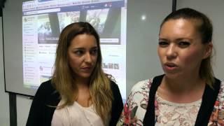 Testimonio de  Eva Trujillo y Marta Cairos , alumno de la VIII edición de curso de Redes Sociales