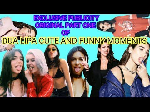 DUA LIPA CUTE & FUNNY MOMENTS (FULL HD) 2018