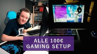 ALLE 100€ GAMING SETUP