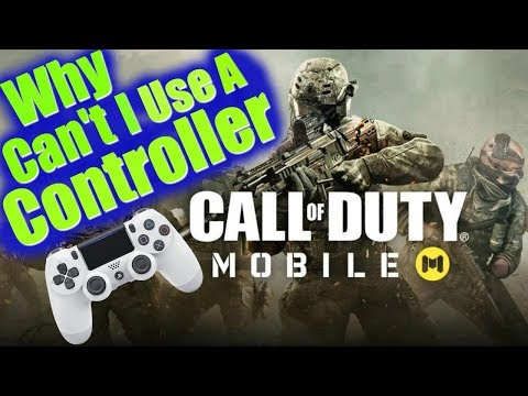 How and can you use a controller on COD mobile // Pairing PS4 & XBOX Controller to phone