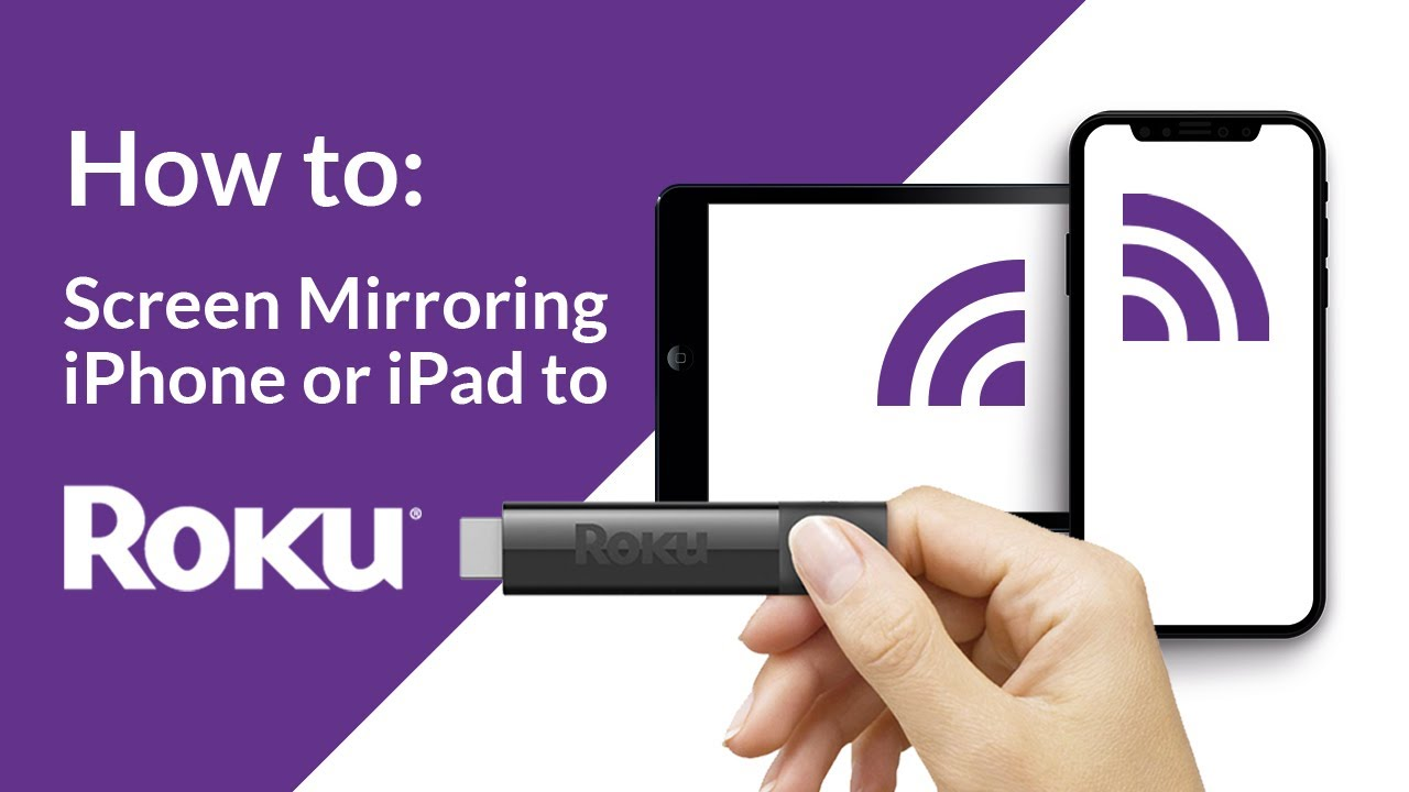 How to: Screen Mirroring iPhone or iPad to Roku