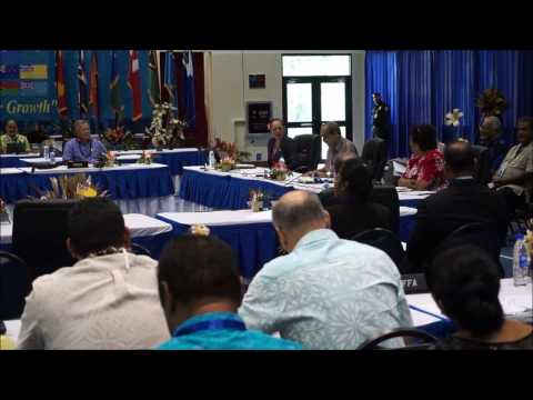Smaller Island States Induction   Pacific Island Forum 2016