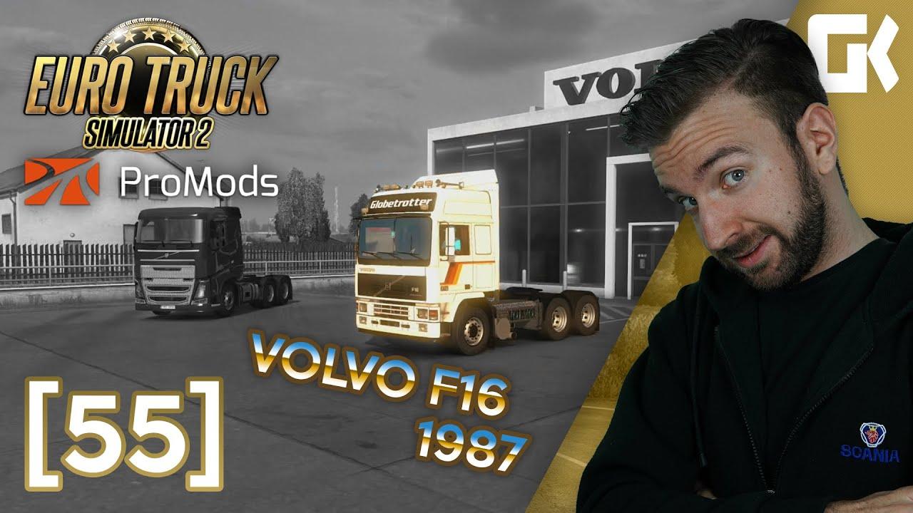 VOLVO F16 1987 | Euro Truck Simulator 2 ProMods & RusMap #55