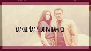 Khona duun |Dil Se Door| Race 3| status for whatsapp|new song|Salman khan| Aarman malik| Jacqueline