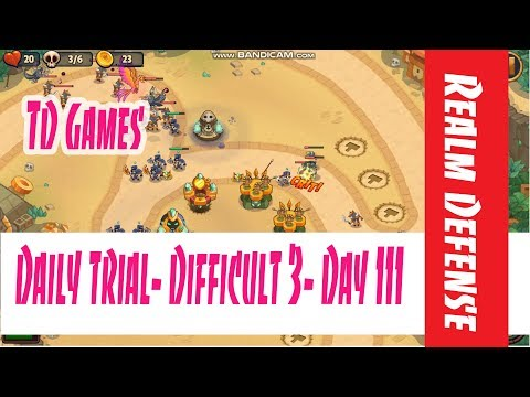 Realm Defense- Daily Trial- Difficult 3- Day 111
