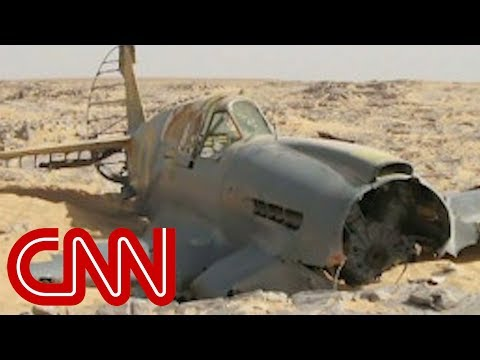 Wreckage of a WWII plane that crashed 70 years ago is found in the Sahara Desert