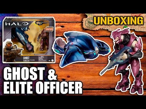 UNBOXING #22 📦 | Ghost & Elite Officer |  Mattel