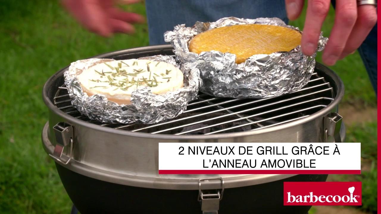 Comment Faire Un Bon Barbecue camembert au barbecue   barbecook billy