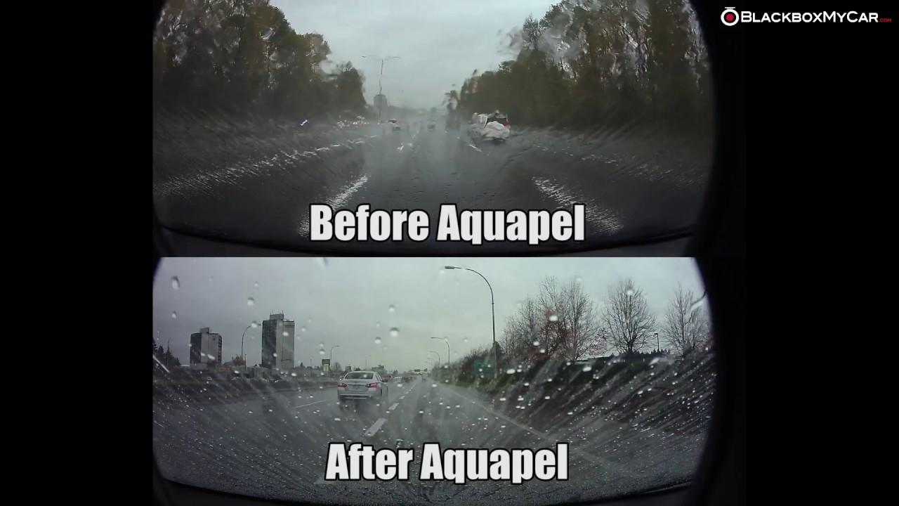 Aquapel Before After Dash Cam Sample Blackboxmycar Youtube