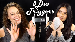 ASMR 3Dio Intense Triggers⚡ Duo Binaural Sounds For Extreme Tingles😌 W/ Corrina & Courtney