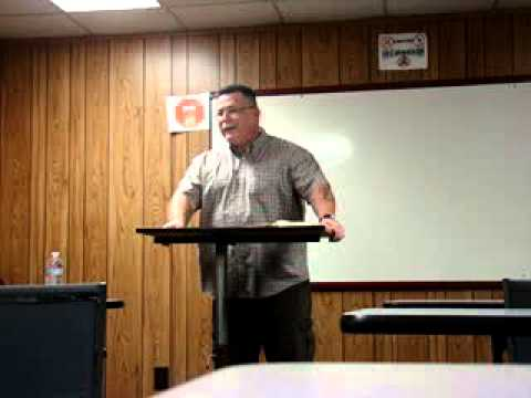 Pastor Ron at Men's Academy - Fresno Mission (7/26/13)