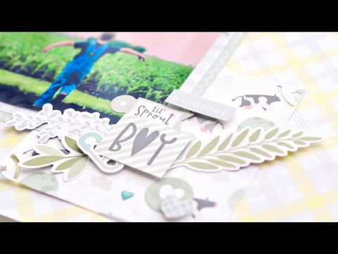 Little Lamb Baby Boy Scrapbook Stickers   Creative Memories Australia
