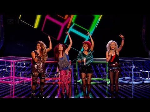 Push It Real Good With Rhythmix - The X Factor 2011 Live Show 3 (Full Version)
